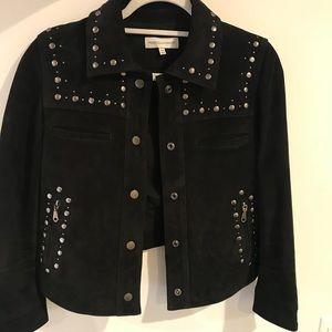 Rebecca Minkoff suede jacket size Xs